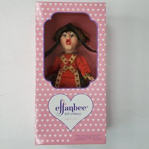 Effanbee Queen Of Hearts Collectible Doll